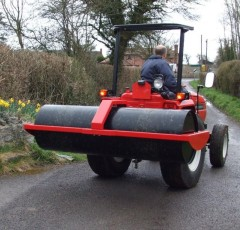 Paddock and grass rollers for sale from Paul Helps